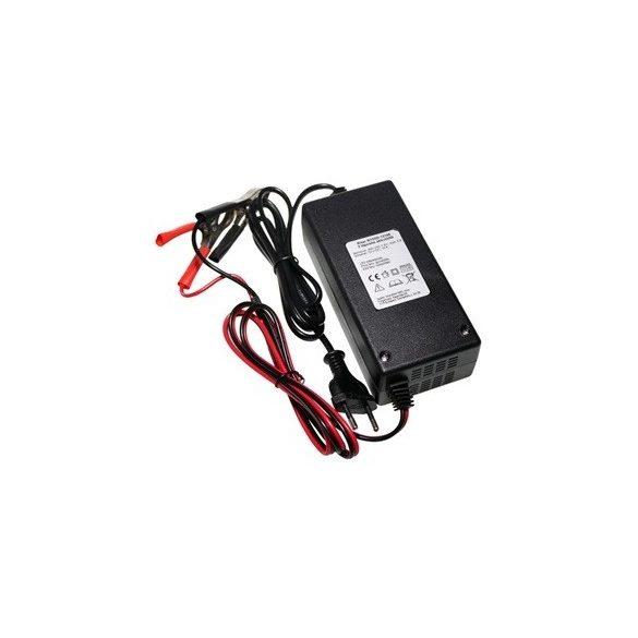 12V 10Ah zselés akkumulátor töltő