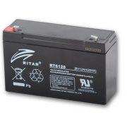 6V 12Ah Ritar RT6120 zselés akkumulátor