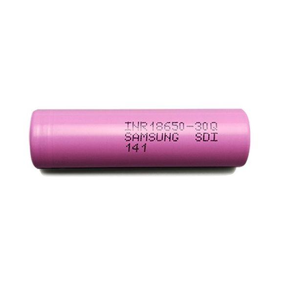 Samsung INR18650 30Q 15A ipari Li-ion akkumulátor