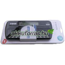 TI-1200L Tensai GENIUS LCD kijelzős akkumulátor töltő