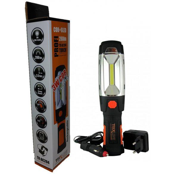 Trixline TR AC204 akkumulátoros LED lámpa
