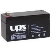 12V 1,3Ah UPS Power MC1.3-12 zselés akkumulátor