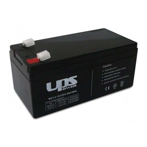 UPS Power MC3.3-12 12V 3,3Ah zselés akkumulátor