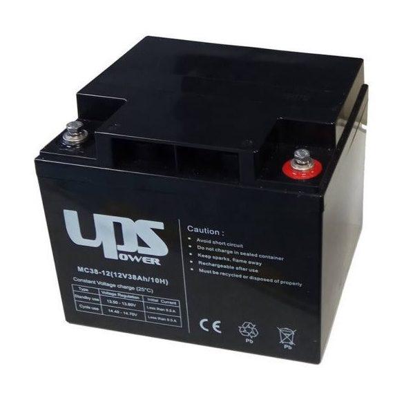 UPS Power MC38-12 12V 38Ah zselés akkumulátor