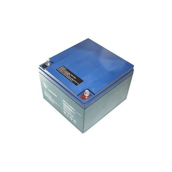 Vision HF12-135WX 12V 24Ah nagy áramú zárt zselés akkumulátor