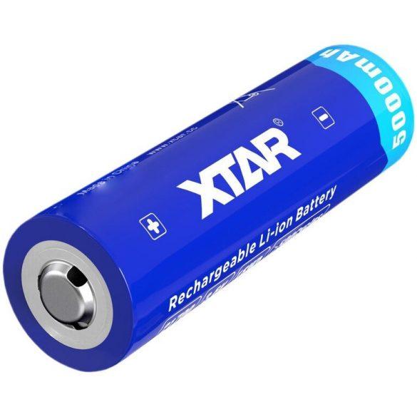 XTAR 21700 3,6V 5000mAh védelemmel ellátott Lithium akku