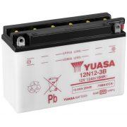 YUASA 12N12-3B 12V 12Ah motor akkumulátor