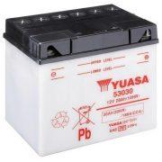 YUASA 53030 12V 30/20Hr motor akkumulátor
