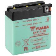 YUASA 6N11A-1B 6V 11Ah motor akkumulátor