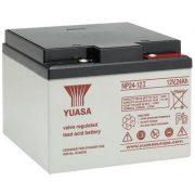 YUASA NP24-12I 12V 24Ah elektromos kerékpár akkumulátor