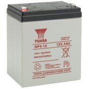 12V 4Ah YUASA NP4-12 zselés akkumulátor