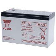 YUASA NP7-12 12V 7Ah zselés akkumulátor