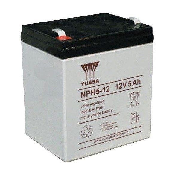 YUASA NPH5-12 12V 5Ah zselés akkumulátor