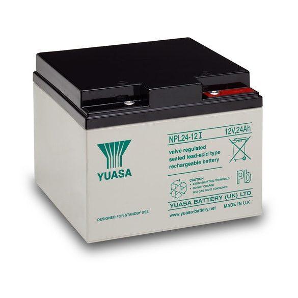 YUASA NPL24-12 12V 24Ah zselés akkumulátor