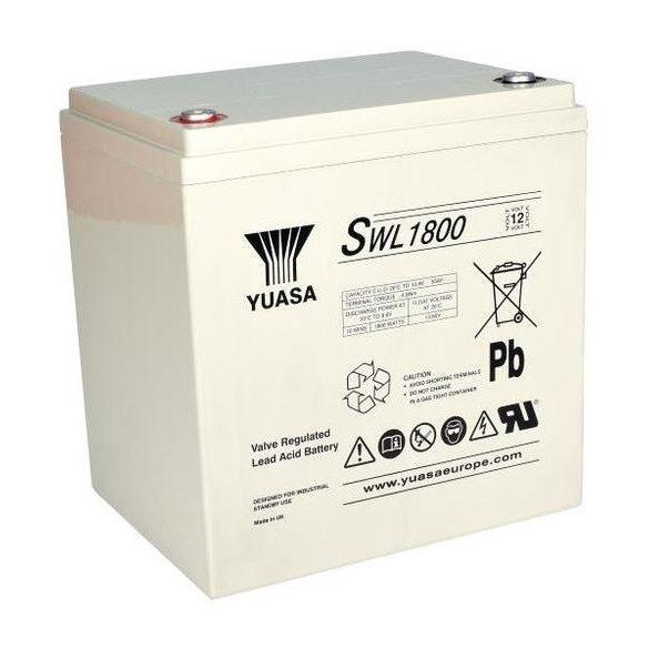YUASA SWL1800 12V 55Ah zselés akkumulátor