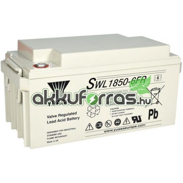 YUASA SWL1850-6 6V 130Ah zselés akkumulátor