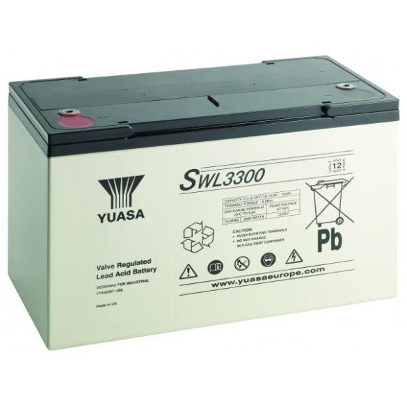 YUASA SWL3300 12V 100Ah zselés akkumulátor