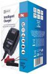 Autós és hálózati akkumulátor töltő