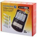 everActive NC-1000 PLUS AA AAA intelligens elem akkumulátor töltő