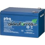 pbq LF 15-12 LiFePO4 12V 15Ah lítium-vas-foszfát akkumulátor