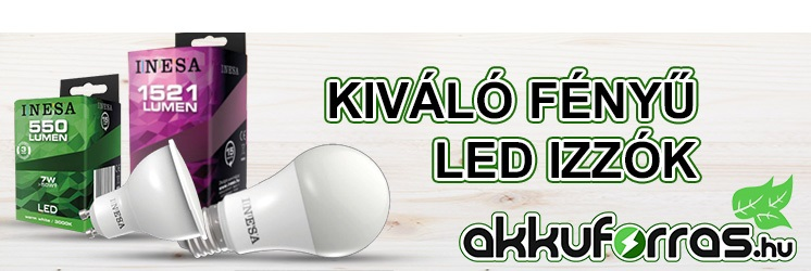 Energizer - Eveready - INESA - Panasonic led izzó